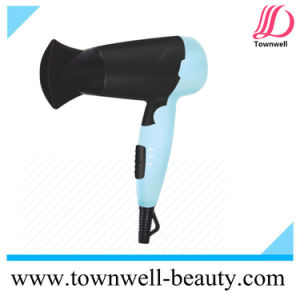 1200W Foldable Ionic DC Mini Travel Dryer with GS ETL Certificates pictures & photos