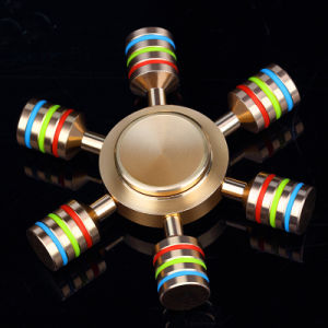 Idget Spinner Finger Spinner Hand Spinner Metal Brass for Autism Adult Anti Relieve Stress Toy Spiner pictures & photos