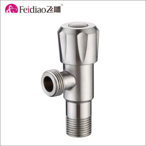 High Quality Lead Free Healthy Stainless Steel Angle Valve pictures & photos