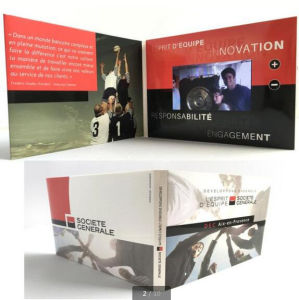 2.4inch LCD Screen Video Wedding Invitation Card pictures & photos