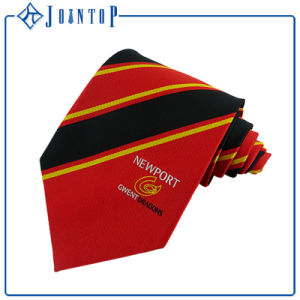 Uniform Custom Logo Necktie 100% Silk Woven Tie pictures & photos