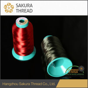 120d/2 Untwisted Rayon Yarn with Oeko-Tex100 1 Class pictures & photos