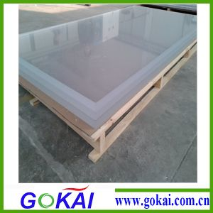 Gokai 1220*2440 Clear Cast Type Acrylic Sheet 20mm pictures & photos