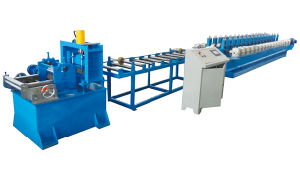 Cold Steel Frame Roll Forming Machine Fire Damper Frame Forming Machine pictures & photos