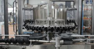 SGS Full Automatic Glass Bottle Beverage Filling Machine pictures & photos