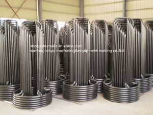 Factory Outlet Powder Coated Round Base Steel Wire Carrier pictures & photos