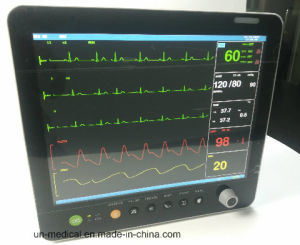 15 Inch Hospital Patient Monitor with Central Monitoring Software pictures & photos