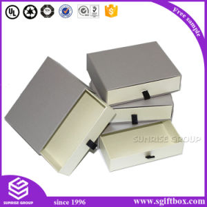 Custom Printing Gift Packaging Adress Paper Drawer Box pictures & photos