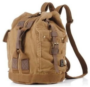 Fashion Travel Backpack, Custom Amphibious Canvas Backpack pictures & photos