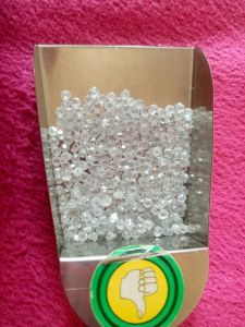 Hpht 4-8 PCS Per Carat White Rough Synthetic Diamond Price Per Carat pictures & photos