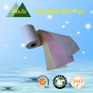 Wholesale Good Quality 100% Wood Pulp Cheap 2-Ply Office Copy NCR Paper pictures & photos