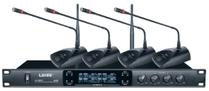 Ls-804 Four Channels Karaoke UHF Wireless Microphone pictures & photos