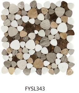 Building Material Natural Stone Tile Marble Mosaic Flooring Tile Marble (FYSL345)