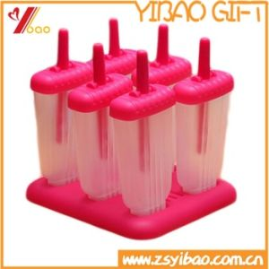 Silicone Ice Cream Mold with Stick Silicone Popsicle Mold pictures & photos