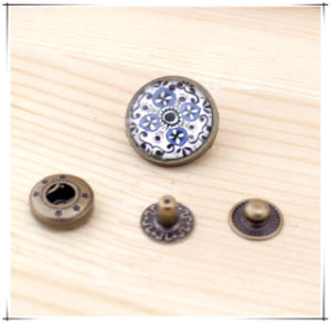 DIY Accessories 18mm Round Metal Snap Button Craft Buttons pictures & photos