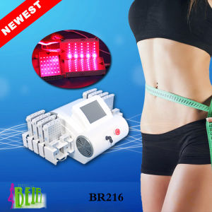 Newest Product Lipo Laser with 4D Lipo Laser 4 Wavelength 528 Diodes Lipo Laser Weight Loss Slimming Machine Br216 pictures & photos