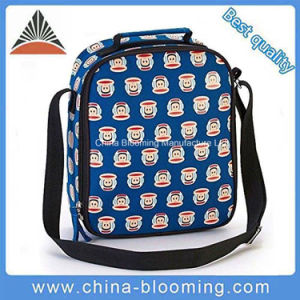 Kids Cartoon Monkey Printing Shoulder School Lunch Bag pictures & photos