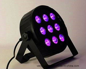 Stage Light 9*12W RGBWA 5 in 1 LED Slim PAR Light pictures & photos