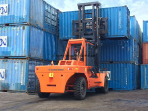 Tmf150 15ton Diesel Forklift with Cummins Engine pictures & photos