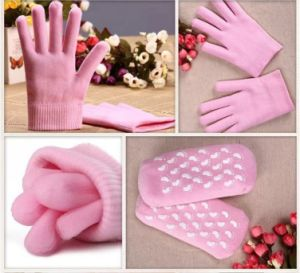 Moisturizing SPA Gel Socks Gloves pictures & photos