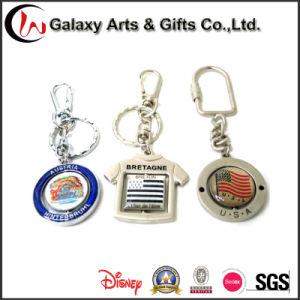 Metal Gift Key Chain Irregular Shape Key Ring
