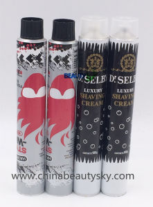Cosmetic Packaging Hair Color Cream Empty Flexible Collapsible Aluminum Tube pictures & photos