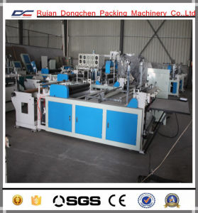 Non Woven Fabric Embossing Inline Roll Cutting Machine for Bags (DC-HW1200) pictures & photos