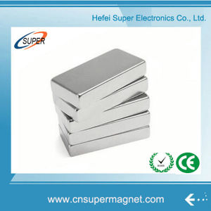N52 Neodymium Big Block Electric Magnet pictures & photos