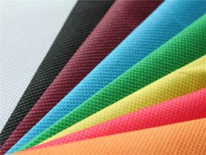 Non Woven Spunbond Polyester Fabric in Different Colors pictures & photos