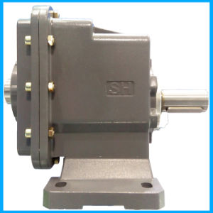 Two-Staged Speed Reduction Helical Gearbox Motor Reducer pictures & photos