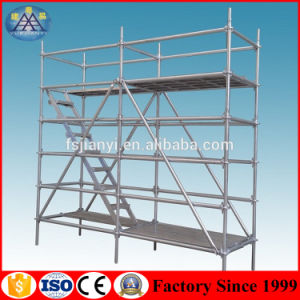 European Style Durable and Stable Galvanized Scaffold Ringlock Scaffolding System pictures & photos