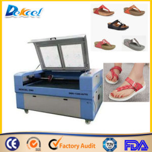 Foam Slippers/Sandals CNC CO2 Laser Cutting Machine pictures & photos