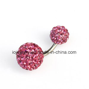 Custom Body Piercing Jewelry Navel Ring pictures & photos