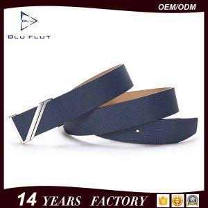 Custom Z Logo Buckle Waist Belt Genuine Cowhide Leather Men Belt pictures & photos