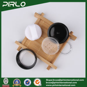 5g 5ml Black Color Plastic Jar Cosmetic Powder Jar with Sifter and Window Cap pictures & photos