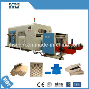 Automatic Die Cutting Machine for Corrugated Paper pictures & photos