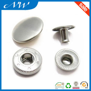 Custom 15mm Metal Snap Button for Babies Clothing pictures & photos