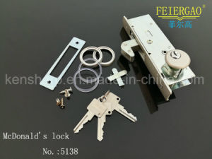 5138 Aluminum Door Hardware Door Lock pictures & photos