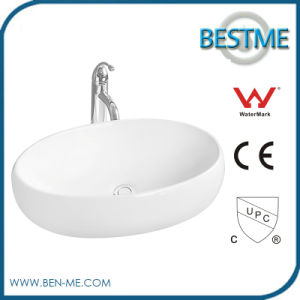 Ceramic Wash Basin with Overflow Hole pictures & photos