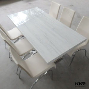 Modern Furniture Marble Dining Table 6 Seater for Home (T1705221) pictures & photos
