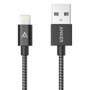 Anker 3FT Nylon Braided Lightning Cable for Apple Mfi Certified] pictures & photos