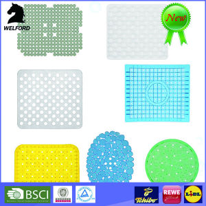 Factory Price Durable Non-Slip PVC Bath Mat pictures & photos