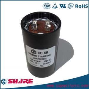 CD60 Motor Start Capacitor 125VAC 75UF pictures & photos