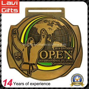Top Sell Factory Price Custom Award Jiu-Jitsu Medal pictures & photos
