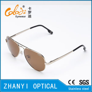 Fashion Colorful Metal Sunglasses for Driving with Polaroid Lense (3025-C2)