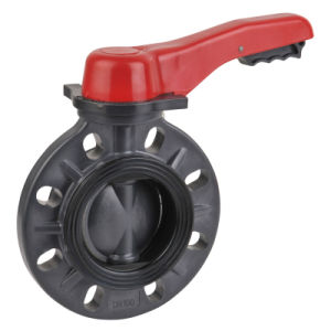 CPVC Butterfly Valve, Wafer Type pictures & photos