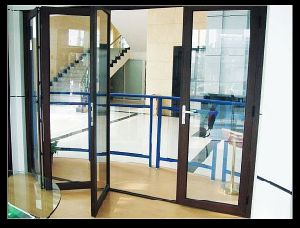 Quality Aluminium Alloy Folding Doors and Windows pictures & photos