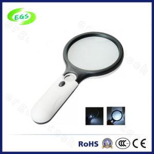 Mini Magnifier LED Light Magnifier Handheld Magnifier pictures & photos