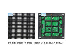 Outdoor P6 LED Module 192mm * 192mm pictures & photos