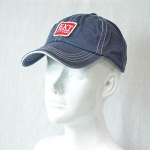 Blue 6 Panels Cotton Baseball Cap Wash Cap pictures & photos